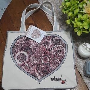 Brighton sweet heart tote